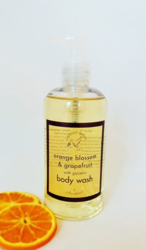 with glycerine for an all over moisturise to skin