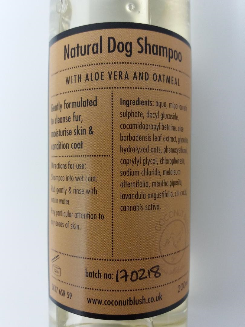 Oatmeal Dog Shampoo Reviews