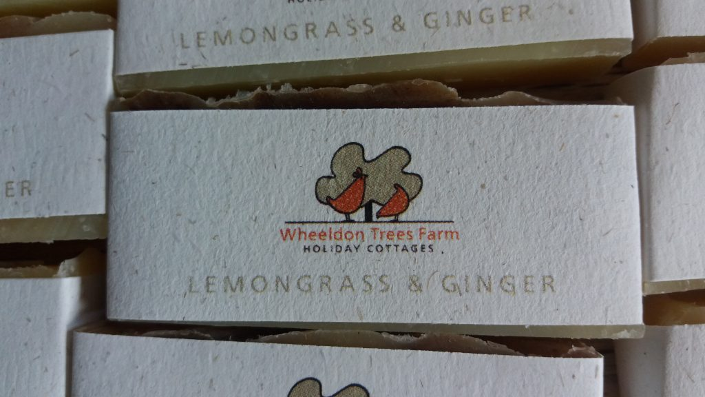 WHEELDON TREES FARM GUEST SOAPS 2