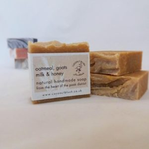 Goats Milk and Oatmeal Handmade Soap