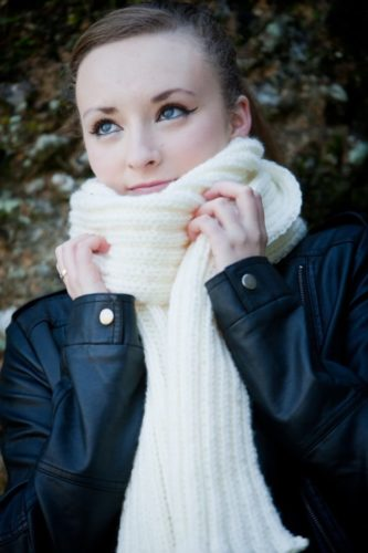 Peggy May - Chunky Knit Scarf