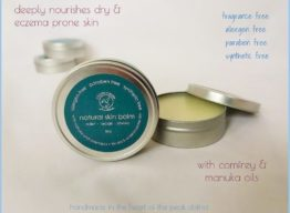 Natural Skin Balm with Manuka & Comfrey